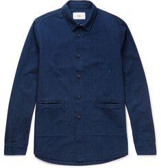 FolkCotton-Chambray Shirt