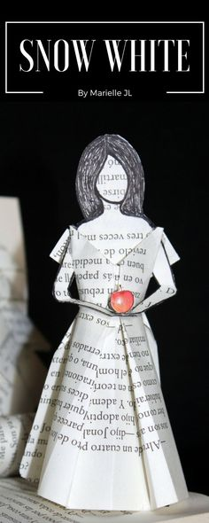 Snow White - Altered books by Marielle JL - Paper Art for book lovers...