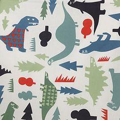 Dino print fabric