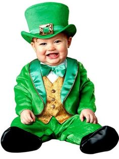 Check out Baby Lil Leprechaun Costume - St. Patrick's Day Costumes for Babies from Wholesale Halloween Costumes