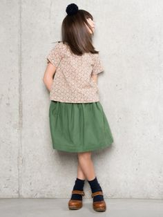 Autumn/winter 2014 Miler Children's Fashion #outfits #fall for #school