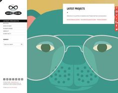 19 Inspiring Examples of Illustrated Elements in Web Design, karinefortier.com