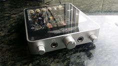 The Desktop Valve Amplifier is wrapped in a 140 x 120 x 25 mm (5.5 x...