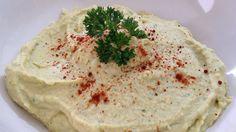 Cómo hacer hummus de garbanzos casero - receta fácil y rápida - Cocinand...