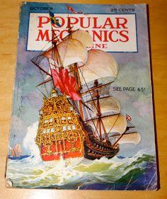 Awesome October 1932 Popular Mechanics by WillmoreCityVintage