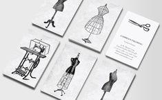 tarjetas de presentacion de diseñadores de moda - Buscar con Google