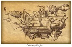 airships steampunk - Google-søgning
