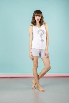 #Pigiama da donna 2 pezzi composto da maglia a giro manica e pantalone corto. Disponibile in 2 varianti di colore. Realizzato in 95% Cotone e 5%Lycra.    #pigiamiamoci #nightandday #trendy #urbanstyle #style #moda #donna #pajamas