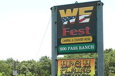 i've been here, done that, but it's been too long.  wefest detroit lakes, mn, I will be back to enjoy some country music and camping sometime soon.
