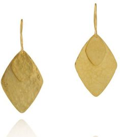 Pippa Small large 'Kite' double drop earrings