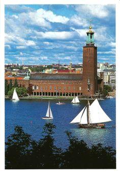 card from Stockholm (Sweden)