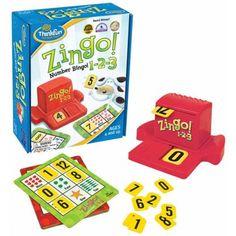 Zingo 1-2-3 társasjáték, 4 éves kortól - ThinkFun - ThinkFun - Akebia Játék-Készségfejlesztő, kreatívjátékok webáruháza