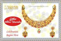 Sogani Jewellers offers a wide range of gold, diamond and silver ornaments in this festival season including bangles, earrings, necklaces, rings, pendants, chains, bridal gold jewellery many more. Visit- Sogani Jewellers  C-19, Vaishali Marg, Vaishali Nagar Jaipur. Call- +919799809156, 0141-4024656. Shop Online- www.soganijewellers4u.com #24 #Hours #Dispatch (Delivery 5 to 7 Days) #Cash #On #Delivery #Available #Easy 30 #Days #Return
