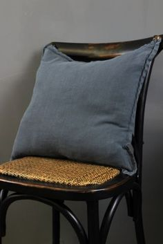 Super Soft Linen Cushion 50x50cm - Grey