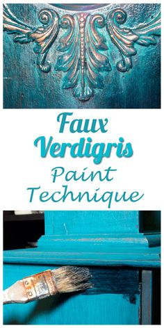 Faux Verdigris Paint Technique | Thicketworks