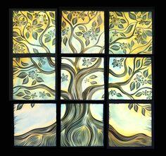 Natalie Blake Studios ceramic wall art tile