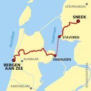 Groot Frieslandpad: Bergen aan zee - Enkhuizen - Stavoren - Sneek http://wandelnet.nl/groot-frieslandpad-law-14