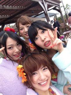 Miyazawa Sae & Kitahara Rie, Sashihara Rino & Takajo Aki, #AKB48 #HKT48 #SNH48