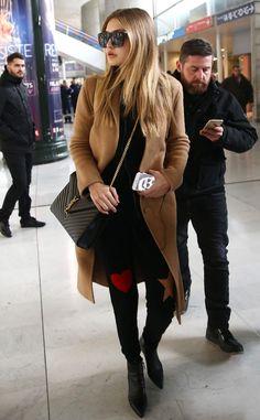 Zayn Malik and Gigi Hadid Take Their First International Trip Together...Sort of  Gigi Hadid