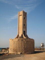 Old Tel-Kudadi Lighthouse, Tel Aviv, Israel