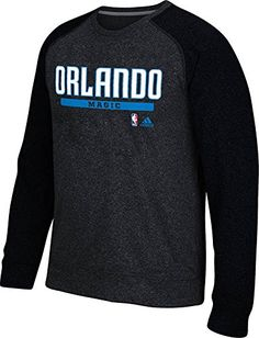 0126a0245 NBA Orlando Magic Mens Cut Paste Climawarm Ultimate Crew Sweatshirt XLarge  Black     Be sure to check out this awesome product.