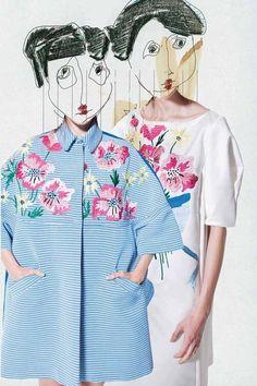 Antonio Marras Resort - fashion illustration