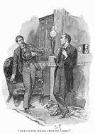 11 x 17 Sherlock Holmes drawn by Sidney Paget 1893 Strand Magazine