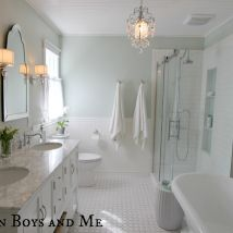 Hometalk :: We completely renovated an 1980's outdated master bathroom (think meta…
