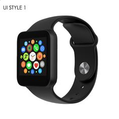 LUOOV Bluetooth Remote Camera Heartrate Monitor Sport Smartwatch Phone Watch HD Display Screen Email Recorder For Android iPhone
