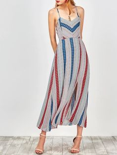 SHARE & Get it FREE   Geometry Print Slip Lace Up Holiday DressFor Fashion Lovers only:80,000+ Items • New Arrivals Daily Join Zaful: Get YOUR $50 NOW!