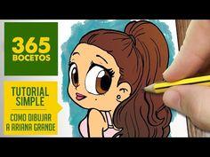 COMO DIBUJAR ARIANA GRANDE- Dibujos kawaii faciles - How to draw a Ariana Grande - YouTube                                                                                                                                                                                 Más                                                                                                                                                                                 Más