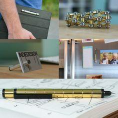 Polar Pen - The world's first modular pen made from magnets.
