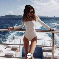 Shop stylish women's swimwear at FABKINI & find tankinis, bikinis, one-piece swimsuits, monokinis & more. Mode Outfits, Bathing Suits, Ideias Fashion, Swimming, Lingerie, Skinny, Stylish, My Style, Womens Fashion