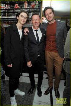 Timothee Chalamet Celebrates 'GQ' Cover with Armie Hammer