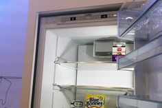 Bosch Home Connect smart fridge sends a picture of its interior so that you know what to buy at the store.