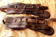 Ethnographic Arms & Armour - selahlik/silahlik weapons belts
