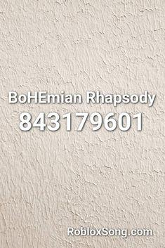 roblox song id bohemian rhapsody