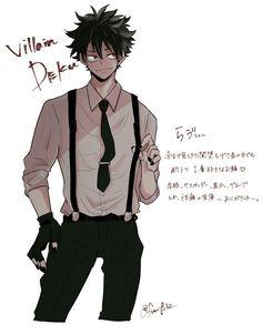 Deku Villain/BNHA