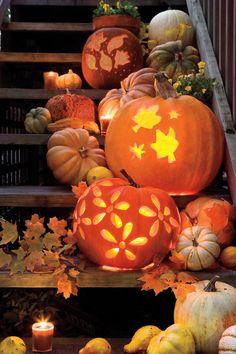 Pumpkin Carving Templates - 33 Halloween Pumpkin Carving Ideas - Southern Living