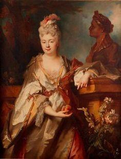 Jeanne Cecile de Guay Montgermon, 1715  (Nicolas de Largilliere) (1656-1746) (Cincinatti Art Museum)