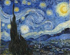 """The Fluid Dynamics of """"The Starry Night"""": How Vincent Van Gogh's Masterpiece Explains the Scientific Mysteries of Movement and Light 