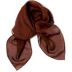 Pre-owned Dolce & Gabbana Scarf/Wrap ($60) ❤ liked on Polyvore featuring accessories, scarves, apparel & accessories, brown, clothing accessories, scarves & shawls, wrap shawl, wrap scarves, brown scarves and dolce&gabbana