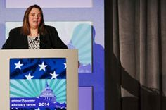 """""""Alzheimer's is a seize the moment disease. When the cloud lifts, I seize the moment & say I love you to my mom,"""" - CNN's Candy Crowley at the 2014 Advocacy Forum."""