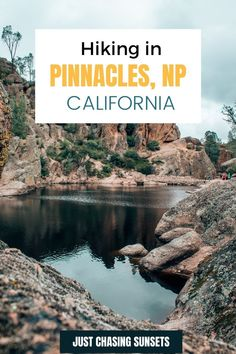 The best thing to do in Pinnacles National Park is going hiking through the caves of Bear Gulch Trail and up to the High Peaks Trail. Pinnacles National Park in California is a hidden gem! Check out this post for the top tips for visiting, hiking, and camping in Pinnacles National Park California Travel Guide, California Destinations, Go Hiking, Hiking Trails, Beautiful Places To Visit, Cool Places To Visit, Travel For A Year, California National Parks, Best Hikes