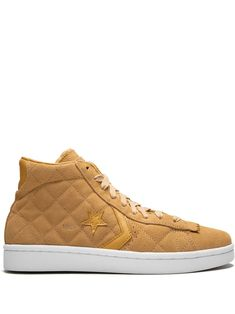 b46a7adf5043 CONVERSE CONVERSE PRO LEATHER UND MID HIGH TOPS - BROWN.  converse  shoes