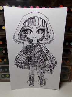 Ever After High 6pack B&W 8 1/2 x 5 7/8 Prints To by BEASTandPIXIE