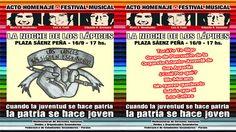 16 Septiembre Parana - Festival Noche de los Lapices - Region Litoral