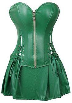 3269018e5cc7 23 Best St. Patrick's Day Corsets Ideas images | Corset, Sexy corset ...