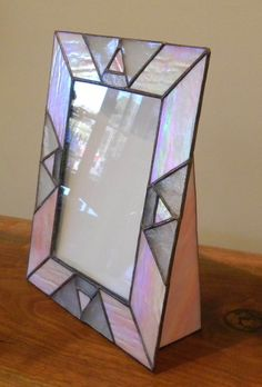 I love the look of stained glass, I don't know what I would put in this picture frame, but I want it. I might just put a picture of stained glass so there's more stained glass there. I think my friend would like this as well, I'll have to see what she thinks of it.