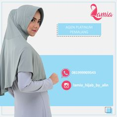 Halo #sahabatlamia di Pemalang, yuk diorder hijabnya, kerudung nyaman dan tidak gerah enak dipakai sehari- hari. Lihat Katalog Produk di Album @lamiahijabkatalog . WA: 081999909543 IG : @lamia_hijab_by_alin